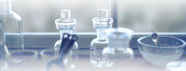 実験室の器具